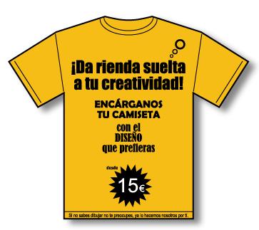 diseño camisetas personalizadas en sevilla