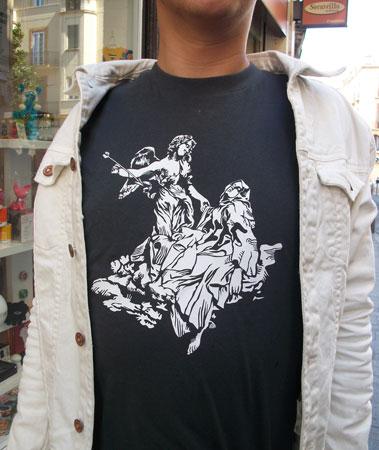 diseño de camiseta personalizada en sevilla
